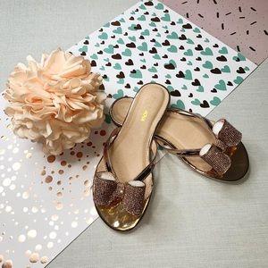 Fashion Nova' Not Responsible Flat Sandals